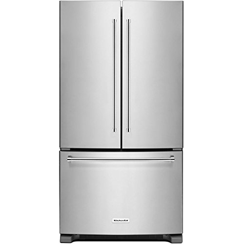 Kitchen KRFC300ESS stainless Counter Depth Refrigerator product image