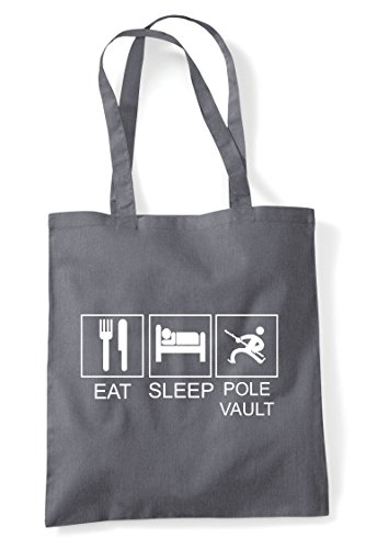 Vault Eat Tiles Bag Grey Hobby Tote Funny Shopper Dark Activity Sleep Pole Erqprf