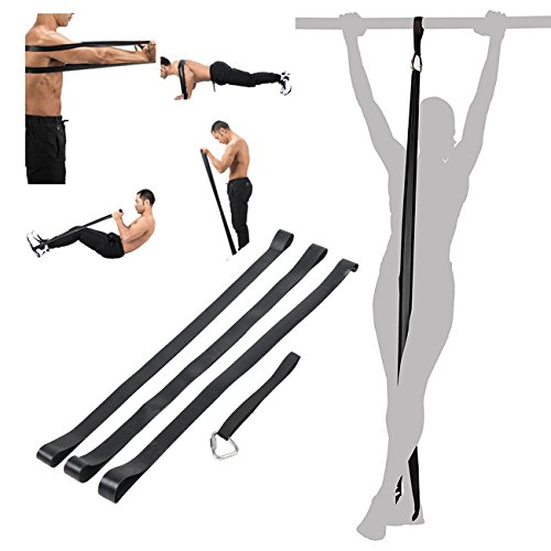 ZELUS 3PCS Pull Up Assistance Bands Mobility & Powerlifting Exercise Resistance for Body Fitness Bands