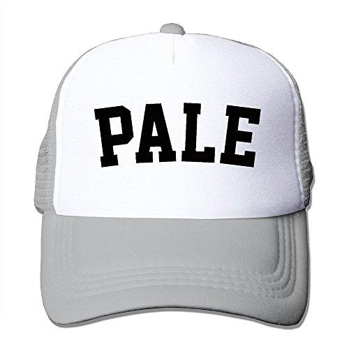 ZhiqianDF Men's Women's Pale Fashion Hip-Hop Ash Mesh Cap Hat Adjustable - Visor Ralph Lauren Sun