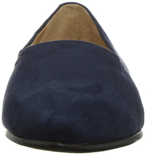 Women's Navy Pointed Flat Toe Harlowe Trotters dqPwxnE