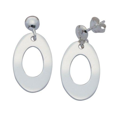 Boucles d'Oreilles Pendantes Femme - E-11561 - Argent Sterling 4.2 Gr