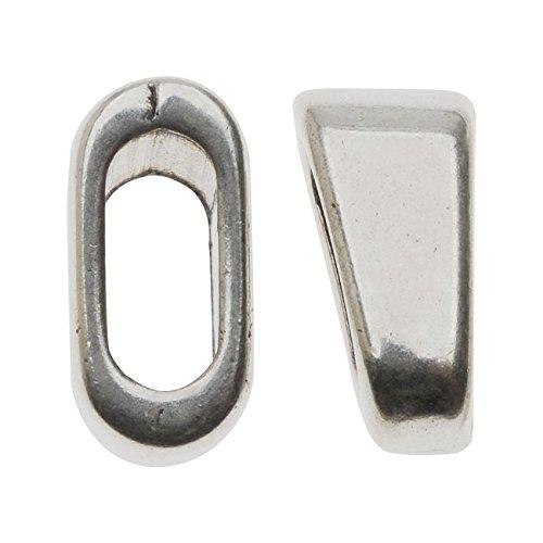 Silver 2 Strand Slider - 6