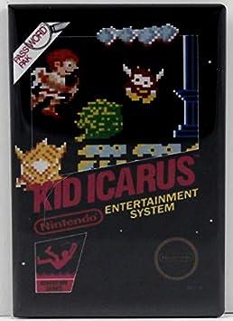 Kid Icarus FRIDGE MAGNET video game box NES