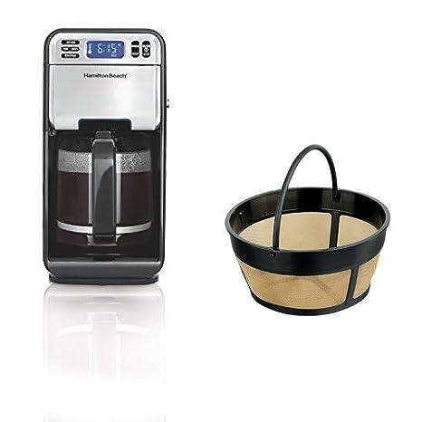 Amazon.com: Hamilton Beach 46205 12-cup programable Coffee ...
