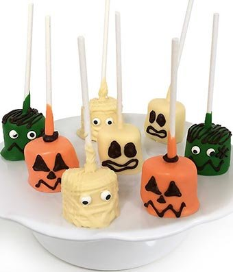 Gifts - Spooky Halloween Chocolate Covered Marshmallow Pops