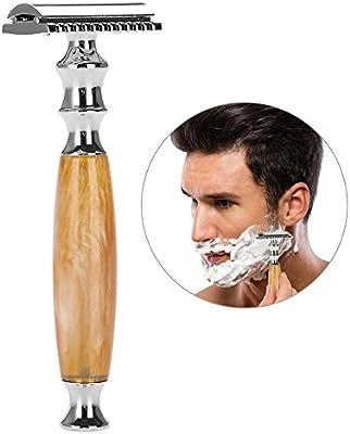 Afeitar Manual Clásica Afeitado de doble filo máquina de afeitar ...