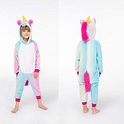 Pijama Unicornio Franela Kigurumi Bodies for niños Pijamas de ...