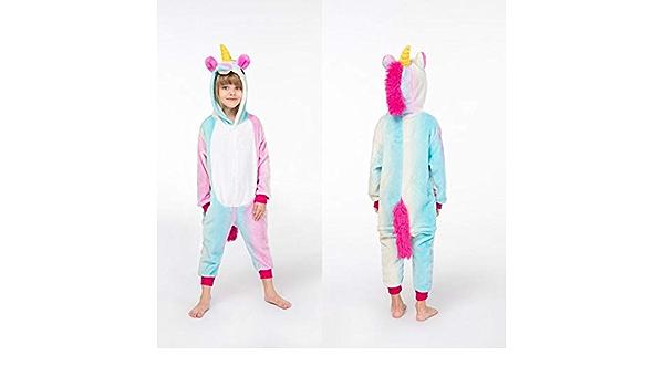 Pijama Unicornio Franela Kigurumi Bodies for niños Pijamas ...