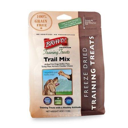 Bravo! Premium Freeze-Dried Training Treats for Dogs, Trail Mix, My Pet Supplies