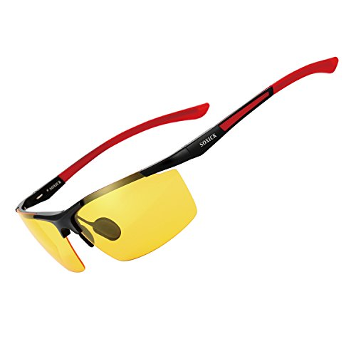 Night Vision Glasses for Driving Rain Day Driving Anti Glare Polarized Safe Night Driving glasses - Night Time Hd Glasses
