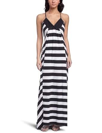 Roxy Juniors Sunset Maxi Dress,New Black,X-Small