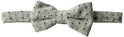 Price comparison product image Mud Pie Baby Adjustable Bow Tie,  grey polka dot,  ONE SIZE