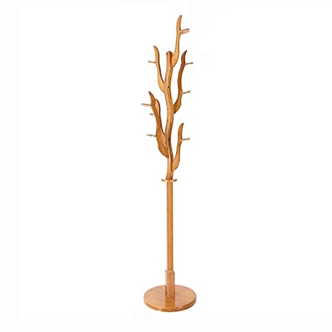 Percheros Perchero Creativo Simple De Bambú Dormitorio Rack ...