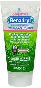 Benadryl Children's Itch Cooling Gel - 3 oz, Pack of 4