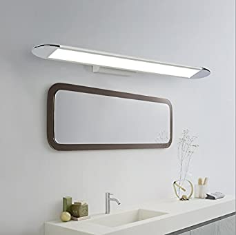 Einfach Badezimmer Spiegelschrank Licht Kreative Edelstahl ...