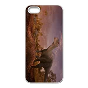 Dinosaur Character Aladar iPhone 4 4s Cell Phone Case White Protect your phone BVS_828363