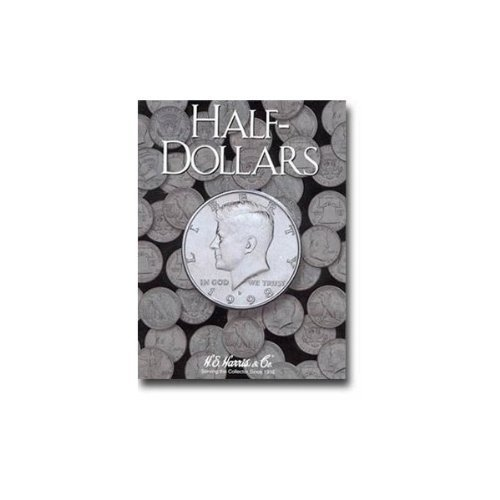 Harris Blank Coin Folder for Half-Dollars 2698