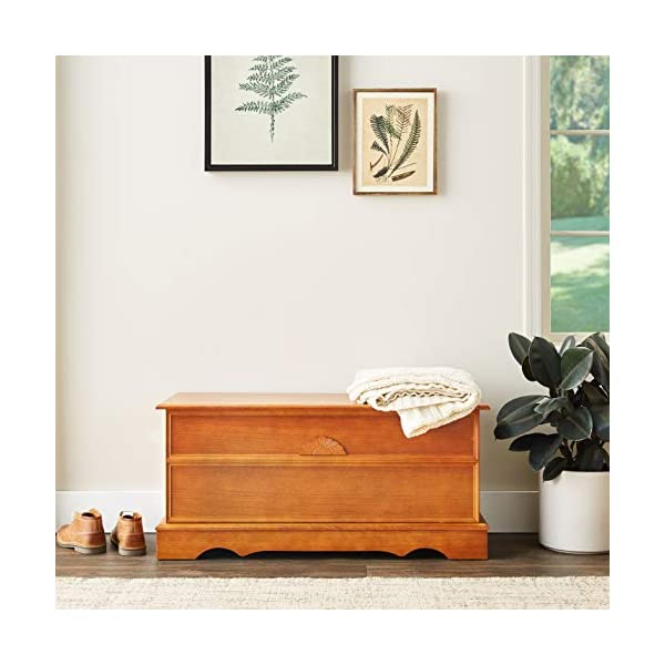 Coaster Home Furnishings Cedar Chest in Honey