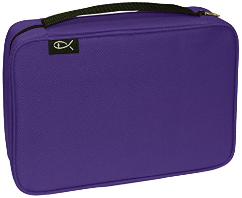 Divinity Boutique Bible Cover Basic Purple - Extra Large (21440)