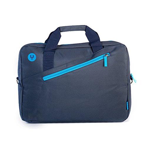 MONRAY-NGS-Ginger-maletin-para-Ordenador-portatil-Jengibre-Azul-396-cm-156-con-Bolsillo-Exterior