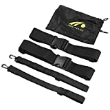 T-best Resistance Belt,Fitness Resistence Belt Agility Tainning Belt for Children Adults for Improving Strength, Power and Agility