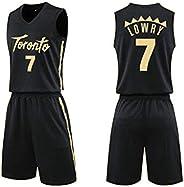 Lowry 7# Raptors Basketball Jersey T-Shirt Sports Polo Shirt Team Uniform Training Shirt Breathable Race Runni