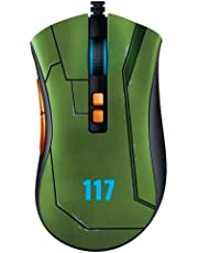 Razer DeathAdder v2 Halo Infinite Edition Gaming Mouse: 20K DPI Optical Sensor - 3X Faster Than Mechanical Optical Switch - RGB Lighting - 8 Programmable Buttons - Classic Black