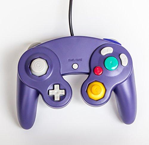 Old Skool GameCube / Wii Compatible Controller - - Gamecube Mario Smash Bros