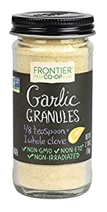 Frontier Culinary Spices Garlic Granules, 2.7-Ounce Bottle