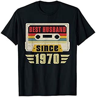 [Featured] Best Husband 1970 49th Wedding Anniversary Gift Idea in ALL styles | Size S - 5XL
