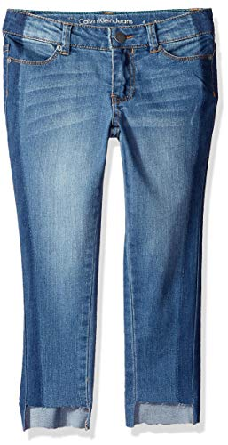 Calvin Klein Little Girls' Ultimate Skinny Jean, Stripe Shadow, - Stripe Shadow Pants