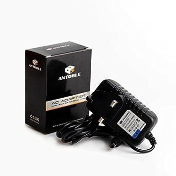 Cargador 9 V para teclado Casio AD-5, AD-5ML, AD-12MLA (series CTK, CA, MA, HT, LK, CT), cargador de repuesto con cable de 2 metros
