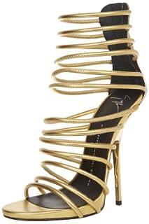 Giuseppe Zanotti Women's Gold Strappy Sandal,Lamaway Dore,10 M US (B009NPLP20)   Amazon price tracker / tracking, Amazon price history charts, Amazon price watches, Amazon price drop alerts