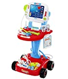 Iso Trade Little doctor medical play set toy - trolley 6114