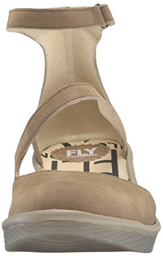 Mousse Plan717fly Cupido London Women's Mushroom Fly Flat Taupe Ew4w1q