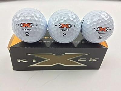 Kick-X Golf Tour Z Premium Golf Balls (3 Ball Sleeve)