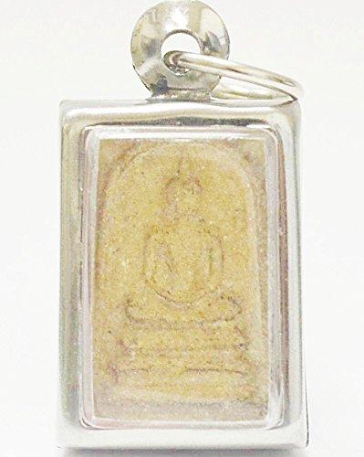 (Thailand Amulets Mini Phra Somdej Lp Toh, Wat Rakang Real Old Antique Buddha Thai Amulet)