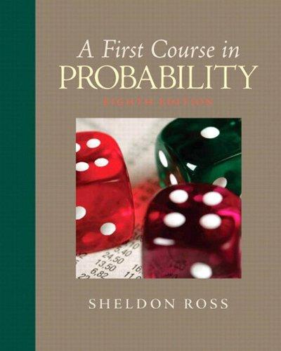 First Course in Probability, A, 8/e Pdf