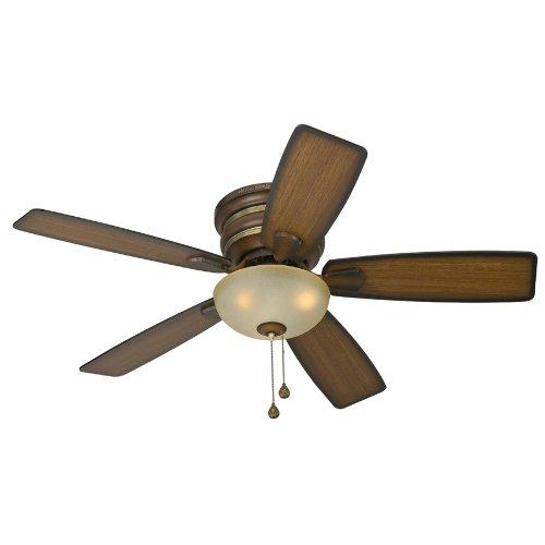 fan and light combo. harbor breeze 44-in cedar hill walnut ceiling fan/ light combo - amazon.com fan and