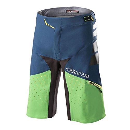 Drop 2018 Pro Alpinestars Summer Poseidon Vert Bleu Vtt Short tAPnRU