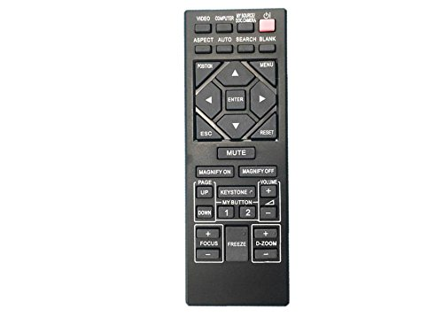 (CLOB Compatible Universal Projector Remote Control for Viewsonic projector - Model: PJ656)