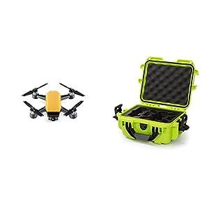 DJI Spark Sunrise Yellow Fly More Combo w/ Lime Nanuk Case