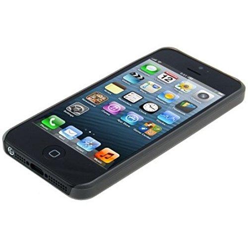 König Boutique Housse Coque Coque de protection Case Cover bumper Étui pour Apple iPhone se Noir