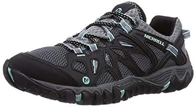 Merrell Women's All Out Blaze Aero Sport Hiking Water Shoe,Black/Aventurine,5 M US