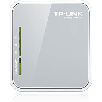 TP-Link N150 Wireless 3G/4G Portable Router with Access Point/WISP/Router Modes (TL-MR3020)