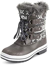 Products Womens Snow Boot Quilted Short Winter Snow Rain Warm Waterproof Boots