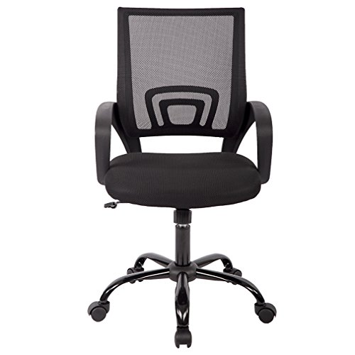 Mid Back Mesh Ergonomic Computer Desk Office Chair,3 Pack