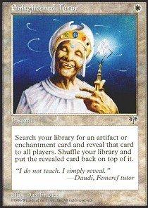 Magic: the Gathering - Enlightened Tutor - Mirage
