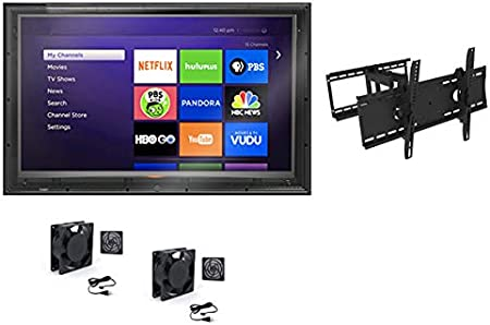 The TV Shield 60-65 Anti-Glare Outdoor TV Enclosure, Fits 60-65 Television 2nd Generation-2020 Model